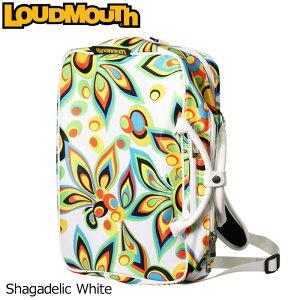ラウドマウス 3WAY バックパック (Shagadelic White/シャガデリック ホワイト) LM-BP0001/768990(003)【日本規格】【新品】 18SS Loudmouth ゴルフ用品 メンズ レディース ボストンバッグ 派手 派手な 柄 目立