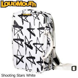 ラウドマウス 3WAY バックパック (Shooting Stars White/シューティングスターホワイト) LM-BP0001/768990(118)【日本規格】【新品】 18SS Loudmouth ゴルフ用品 メンズ レディース ボストンバッグ 派手 派手な