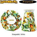 【Newest】【日本規格】ラウドマウス 2019 アイスバッグ(氷のう) (シャガデリックホワイト Shagadelic White) 769934(…