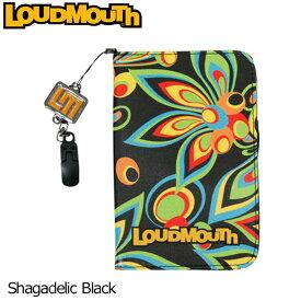 【メール便発送】ラウドマウス スコアカードホルダー (Shagadelic Black シャガデリックブラック) LM-CH0002/767038(020)【日本規格】【新品】17SS 17FW 777976 Loudmouth Score Card holder メンズ レディース ラウンド小物