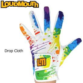 【メール便可250円】ラウドマウス 2019 メンズ ゴルフグローブ Drop Cloth ドロップクロス 769906(001) 左手用【Revival】【日本規格】【新品】19SS Loudmouth 手袋