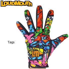 【メール便可250円】ラウドマウス 2019 メンズ ゴルフグローブ Tags タグス 769906(029) 左手用【Revival】【日本規格】【新品】19SS Loudmouth 手袋