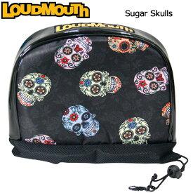 ラウドマウス アイアンカバー Sugar Skulls シュガースカルズ LM-HC0002/IR/777990(058) 【日本規格】【新品】17FW Loudmouth ゴルフ用品 ヘッドカバー アイアン用 メンズ レディース