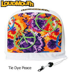 ラウドマウス アイアンカバー(Tie Dye Peace タイダイピース) LM-HC0002/IR/777990(106)【39%off】【日本規格】【新品】 17FW Loudmouth ゴルフ用品 ヘッドカバー アイアン用 メンズ レディース 派手 派手な 柄 目立つ 個性的