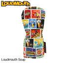 ラウドマウス 2019 ヘッドカバー ドライバー用 Loudmouth Soup ラウドマウス スープ LM-HC0007/DR/769985(177)【日本規格】【新品】 19SS Loudmouth 1W用 ゴルフ用品 派手 派手な 柄 目立つ 個性的