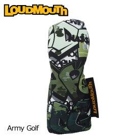 ラウドマウス 2019 ヘッドカバー ユーティリティ用 Army Golf アーミー ゴルフ LM-HC0007/UT/769983(200)【日本規格】【新品】 19SS Loudmouth ゴルフ用品 派手