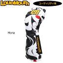 ラウドマウス 2019 ヘッドカバー ユーティリティ用 Mona モナ LM-HC0008/UT 779987(152) 【Newest】【日本規格】【新品】 19FW Loudmouth ゴルフ用品