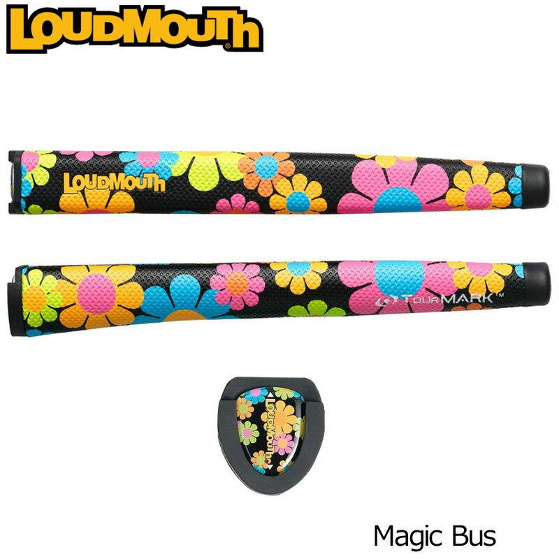 """[クーポン有]ラウドマウス パターグリップ オーバーサイズ ビッグ マジックバス Loudmouth Putter Grip Over Size """"Magic Bus""""[新品]Loudmouthメンズ/レディース/子供用子ども用こども用ラージ 太ジャンボ Jumbo"""