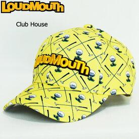 【日本規格】ラウドマウス 2020 キャップ Clubhouse クラブハウス 760900(253)【新品】20SS Loudmouth 帽子 メンズ レディース 派手 派手な 柄 目立つ 個性的 MAR2