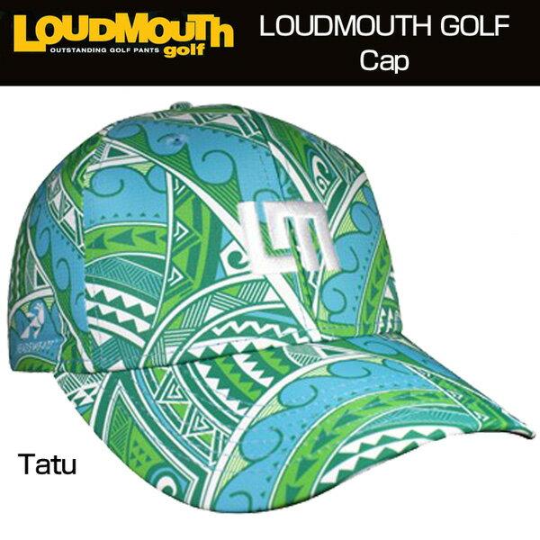 "【New】Loudmouth Performance Cap(Hat) ""Tatu"" (ラウドマウス キャップ(ハット) ""タトゥー""【新品】ゴルフウェア帽子メンズ/レディース/子供用子ども用こども用"
