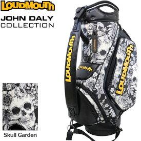 【予約】【世界限定生産10本】ラウドマウス 11型 3点式 キャディバッグ Skull Garden スカルガーデン ジョン・デーリー ツアーレプリカ JD-CB0003LTD 770999-116 【日本規格】【新品】 20FW Loudmouth