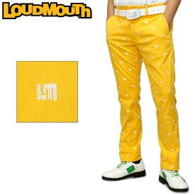 ラウドマウス メンズ ロングパンツ ストレッチ UVカット イエロー 760301(993) 【日本規格】【新品】20SS Loudmouth ゴルフウェア ゴルフパンツ ボトムス %off