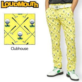 ラウドマウス メンズ ロングパンツ ストレッチ UVカット Clubhouse クラブハウス 760304(253) 【日本規格】【新品】20SS Loudmouth ゴルフウェア ゴルフパンツ ボトムス 派手 派手な 柄 目立つ 個性的 %off