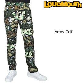 ラウドマウス 2019 メンズ ロングパンツ Army Golf アーミー ゴルフ 769314(200) 【Newest】【日本規格】【新品】19SS Loudmouth ゴルフウェア ボトムス 派手 派手な 柄 目立つ 個性的 JUN2