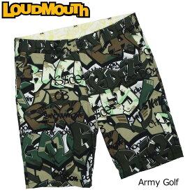 【メール便可250円】ラウドマウス 2019 メンズ ショートパンツ Army Golf アーミー ゴルフ 769315(200) 【Newest】【日本規格】【新品】19SS Loudmouth ゴルフウェア ハーフパンツ 派手 派手な 柄 目立つ 個性的 JUN2