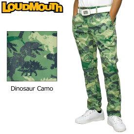 ラウドマウス 2020 メンズ ロングパンツ ストレッチ UVカット Dinosaur Camo ダイナソーカモ 770301(269) 【日本規格】【新品】20FW Loudmouth ゴルフウェア ゴルフパンツ 派手 SEP2