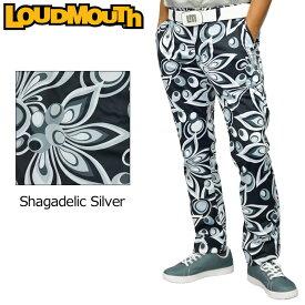 ラウドマウス 2020 メンズ ボンディング ロングパンツ Shagadelic Silver シャガデリックシルバー 770304(202) 防寒 【日本規格】【新品】20FW Loudmouth ゴルフウェア SEP3