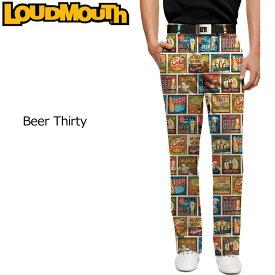 【インポートSale】ラウドマウス メンズ ロングパンツ スリムカット ビアサーティー 726150 Pants Slim Cut Beer Thirty【新品】Loudmouthゴルフウェアボトムス派手 派手な 柄 目立つ 個性的 %off