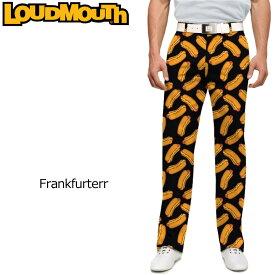 【インポートSale】ラウドマウス メンズ ロングパンツ スリムカット (Frankfurter フランクフルター) 768330(146)【新品】18SSゴルフウェアボトムスLoudmouth Pants Slim Cut 派手 派手な 柄 目立つ 個性的 %off