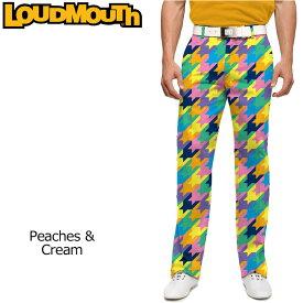 【インポートSale】ラウドマウス メンズ ロングパンツ スリムカット (Peaches&Cream ピーチズ&クリーム) 768327(133)【新品】18SSゴルフウェアボトムスLoudmouth Pants Slim Cut派手 派手な 柄 目立つ 個性的 %off