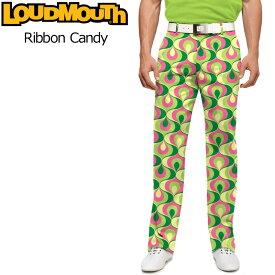 【インポートSale】ラウドマウス メンズ ロングパンツ スリムカット (リボンキャンディ Ribbon Candy) 767327(092)【新品】 17S Sゴルフウェア ボトムス Loudmouth Pants Slim Cut派手 派手な 柄 目立つ 個性的 %off