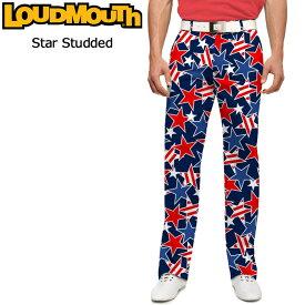 ラウドマウス メンズ ロングパンツ スリムカット (Star Studded スタースタッズ) 767327(078)【インポート】【新品】17SSゴルフウェアボトムスLoudmouth Pants Slim Cut派手 派手な 柄 目立つ 個性的 %off