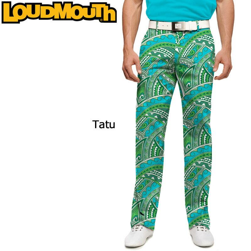 """[クーポン有][55%off]Loudmouth Pants Slim Cut """"Tatu"""" (ラウドマウス メンズ ロングパンツ スリムカット """"タトゥー"""")[新品]Loudmouthゴルフウェアボトムス"""