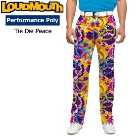 【インポートSale】ラウドマウス メンズ ロングパンツ スリムカット (Tie Dye Peace タイダイピース) 768329(106)【新品】18SSゴルフウェアボトムスLoudmouth Pants Slim Cut 派手 派手な 柄 目立つ 個性的 %off