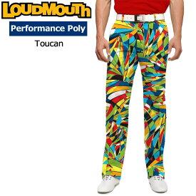 ラウドマウス メンズ ロングパンツ スリムカット (Toucan トゥーキャン) 768325(130)【30%off】【インポート】【新品】18SSゴルフウェアボトムスLoudmouth Pants Slim Cut派手 派手な 柄 目立つ 個性的