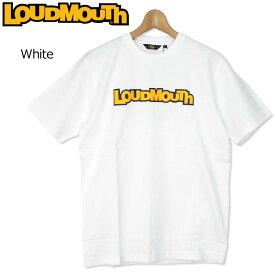 【メール便可250円】ラウドマウス 2019 メンズ Tシャツ White 769609(999) フィットネス ヨガ 【Newest】【日本規格】【新品】 19SS Loudmouth メンズファッション トップス