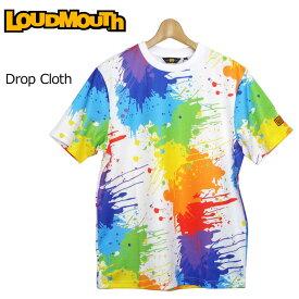 【メール便可250円】ラウドマウス 2019 メンズ Tシャツ Drop Cloth ドロップクロス 769610(001) フィットネス ヨガ 【Rivival】【日本規格】【新品】 19SS Loudmouth トップス 派手 派手な 柄 目立つ 個性的
