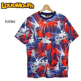 【メール便可250円】ラウドマウス 2019 メンズ Tシャツ Icicles アイシクル 769610(178) フィットネス ヨガ 【Newest】【日本規格】【新品】 19SS Loudmouth トップス 派手 派手な 柄 目立つ 個性的