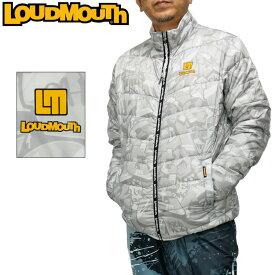 ラウドマウス 2020 メンズ ライトダウン ブルゾン ホワイト 770205(999) 防寒 【日本規格】【新品】20FW ジャケット 中綿 アウター Loudmouth ゴルフウェア OCT2