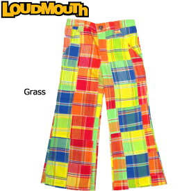 【インポートSale】【メール便発送】【女の子用】ラウドマウス キッズ パンツ ガールズ Grass (ラウドマウスキッズ/子ども用ロングパンツ グラス) Loudmouth Kids' Pants【新品】Loudmouthジュニア用ゴルフウェアボトムス派手 派手な 柄 目立つ 個性的 %off