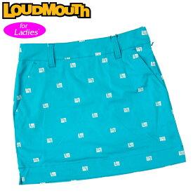 【メール便発送】ラウドマウス スカート インナー付き Turquoise ターコイズ 760356(966) 【日本規格】【新品】20SS Loudmouth レディース スコート %off