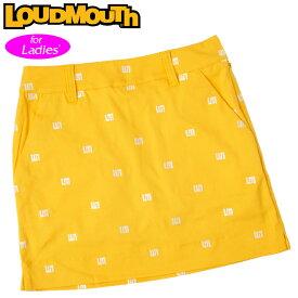 【メール便発送】ラウドマウス スカート インナー付き Yellow イエロー 760356(993) 【日本規格】【新品】20SS Loudmouth レディース スコート %off