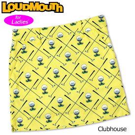 【メール便発送】ラウドマウス スカート インナー付き Clubhouse クラブハウス 760358(253) 【日本規格】【新品】20SS Loudmouth レディース スコート %off