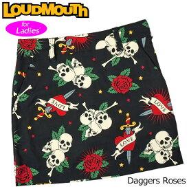 【メール便発送】ラウドマウス スカート インナー付き Daggers Roses ダガーローズ 760359(239) 【日本規格】【新品】20SS Loudmouth レディース スコート %off