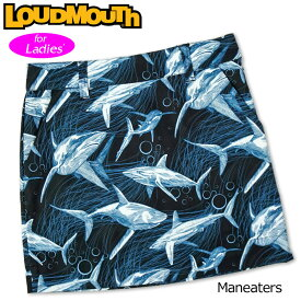【メール便発送】ラウドマウス スカート インナー付き Maneaters マンイーター 760359(244) 【日本規格】【新品】20SS Loudmouth レディース スコート %off