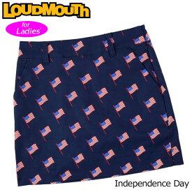 【メール便発送】【日本規格】ラウドマウス スカート インナー付き Independence Day インディペンデンスデイ 760359(250) 【新品】20SS Loudmouth レディース スコート %off