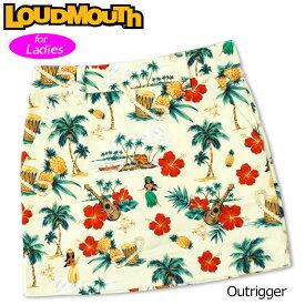 【メール便発送】ラウドマウス スカート インナー付き Outrigger アウトリガー 760359(256) 【日本規格】【新品】20SS Loudmouth レディース スコート %off