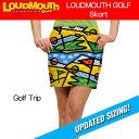 [クーポン有][Newest][レディース]ラウドマウス スコート(Golf Trip ゴルフトリップ)[新品]17SSゴルフウェアレディススカートLoudmo...