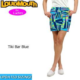 【インポートSale】【メール便発送】レディース ラウドマウス スコート (Tiki Bar Blue ティキバーブルー) 767382(084)【新品】 Loudmouth Skort 17SS レディス 女性用 ゴルフウェア スカート ボトムス 派手 派手な 柄 目立つ 個性的 %off