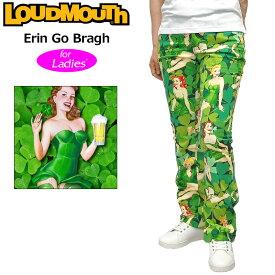 """【インポートSale】【レディース 】Loudmouth Women's Pants """"Erin Go Bragh"""" (ラウドマウス ロングパンツ ジーンズカット """"エリン・ゴー・ブラウ"""") 【新品】Loudmouthレディス女性用ゴルフウェアボトムスNew Comer tmsl派手 派手な 柄 目立つ 個性的 %off"""