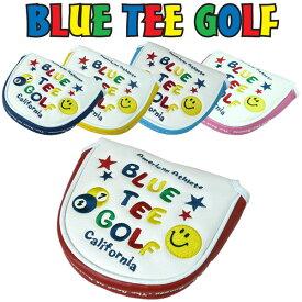 ブルーティーゴルフ スマイル&ピンボール パターカバー(マレット型)【新品】Blue Tee Golf California ヘッドカバー パター用