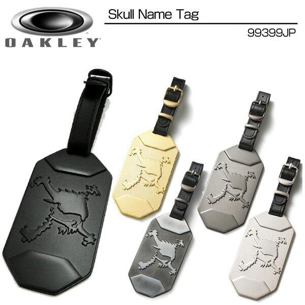[クーポン有]Oakely(オークリー) Skull Name Tag 99399JP スカル ネームタグ メーカー純正ネームプレート[新品]キャディバッグ ボストンバッグ