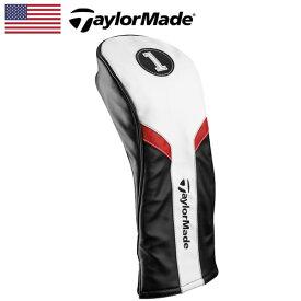 【日本未発売】 テーラーメイド ヘッドカバー ドライバー用 BK/WH/RD B1587401 TaylorMade Headcover for Driver【USモデル】【新品】 DR1W ゴルフ ゴルフ用品