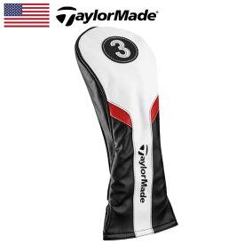 【日本未発売】 テーラーメイド ヘッドカバー フェアウェイウッド用(3W) BK/WH/RD B1587501 TaylorMade Headcover for Fairwaywood【US】【新品】FW %off ゴルフ ゴルフ用品