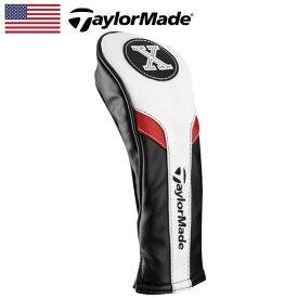 【日本未発売】 テーラーメイド ヘッドカバー レスキュー/ユーティリティ用(X) BK/WH/RD B1587701 TaylorMade Headcover for Hybrid【US】【新品】 ゴルフ ゴルフ用品