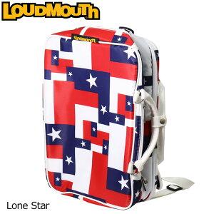 【日本規格】ラウドマウス 3WAY バックパック (ローンスター/Lone Star) LM-BP0001/768990(115)【新品】 18SS Loudmouth ゴルフ用品 メンズ レディース ボストンバッグ 派手 派手な 柄 目立つ 個性的 %off